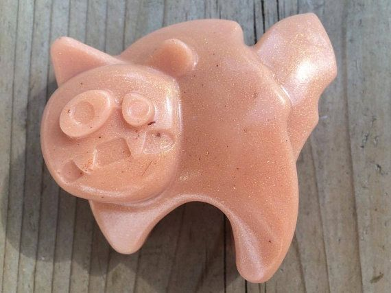 Halloween Cat natural soap with coconut oil essential by MilkyJar
