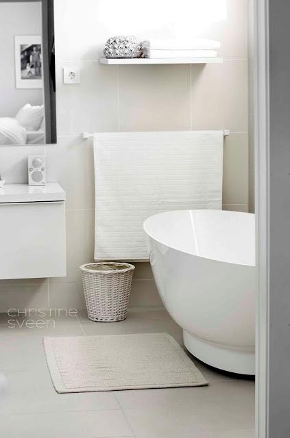 Relaxing Bathroom Colors: Christine Sveen: Bad Til Inspirasjon
