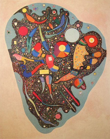 "Wassily Kandinsky - ""Colourful Ensemble"". 1938"