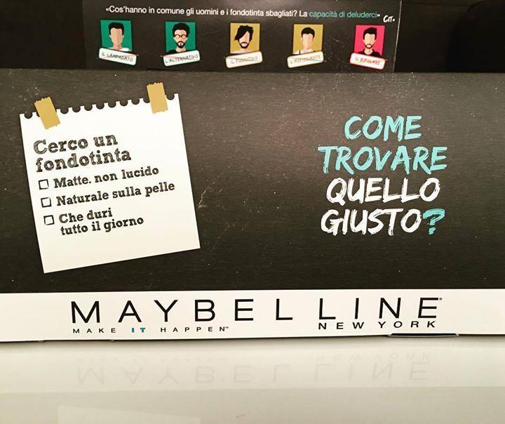 Oggi lo provo e vi dico se ho trovato #ilmiofitperfetto A stasera! #makeup #fondotinta #matte #foundation #poreless #maybelline #beautyreporter #cocoetlavieenrose @maybelline @maybellineny #beauty http://ift.tt/2g6tCIt - http://ift.tt/1HQJd81