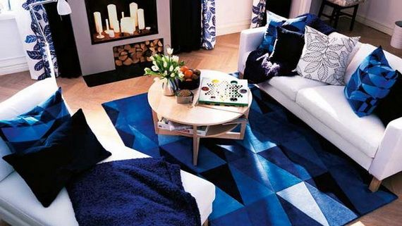 Best White And Blue Interior Decorating Design Ideas