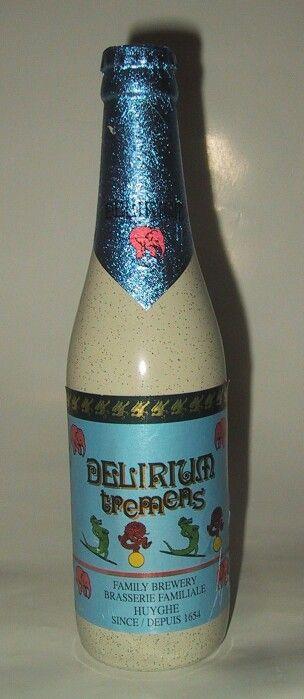Great bottle it looks like earthenware but it is glass in a plastic sleeve
