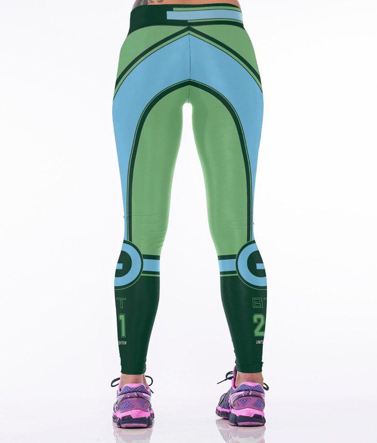Mechanical Fit Queen, Fitness Leggings