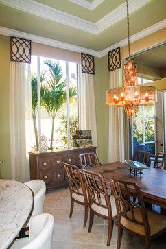 Florida Tropical Dining Room