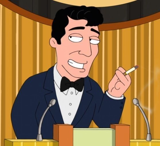 Dean Martin Family Guy Dean Martin Jerry Lewis Pinterest
