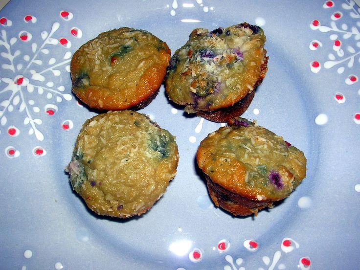 A Taste of Summer: Coconut Blueberry Muffins | Allison Nichols | Frisky Lemon Nutrition | Health Coaching to Find Food Freedom