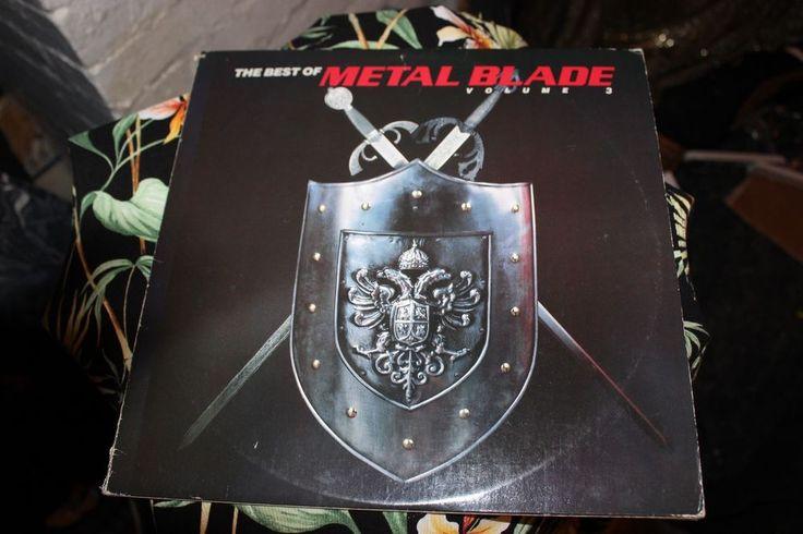 The Best Of Metal Blade Volume 3 LP Vinyl Fates Warning Nasty Savage Liege Lord