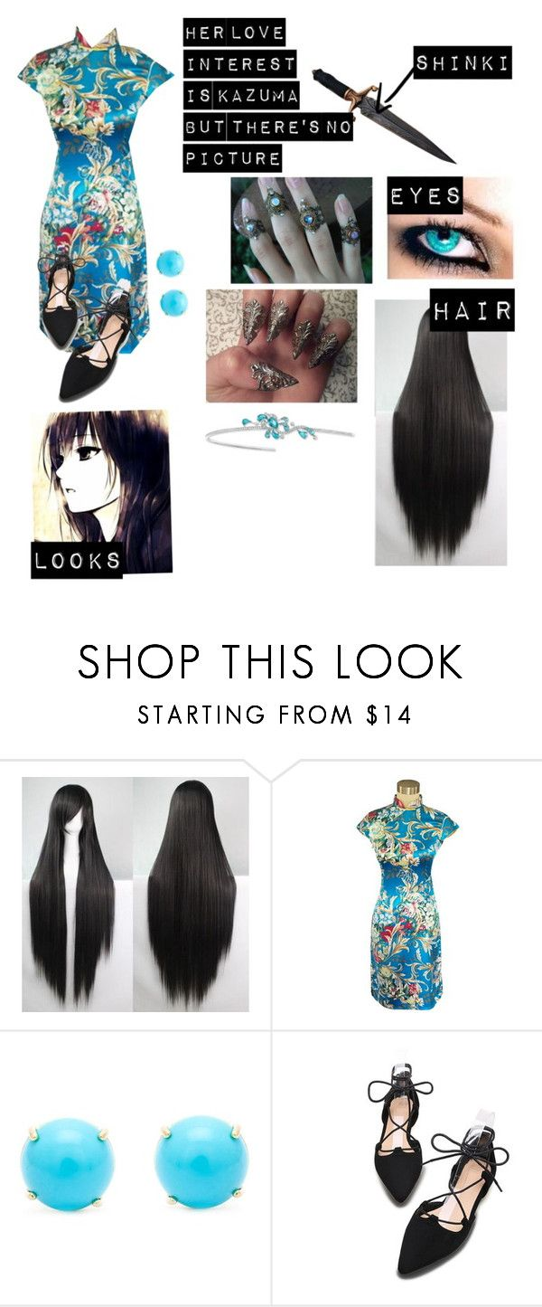 """Noragami oc 2#"" by gglloyd ❤ liked on Polyvore featuring Irene Neuwirth"