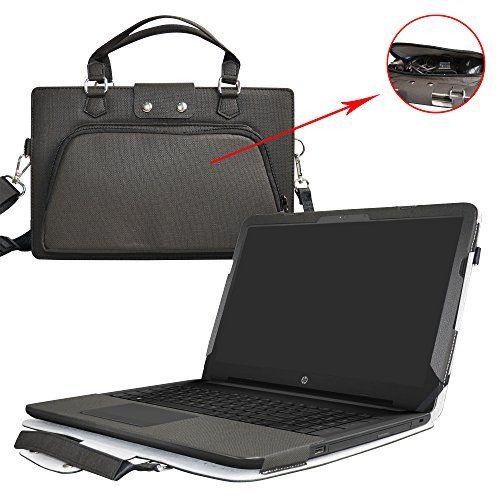 """HP Notebook 15 Housse,2 en 1 spécialement conçu Etui de protection en cuir PU + sac portable Sacoche pour 15.6"""" HP Notebook 15 15-bs000 15-bw000 Series ordinateur(NON compatible avec 15-ac000/15-ay000/15-ba000 Series),Noir #Notebook #Housse, #spécialement #conçu #Etui #protection #cuir #portable #Sacoche #pour #Series #ordinateur(NON #compatible #avec #Series),Noir"""