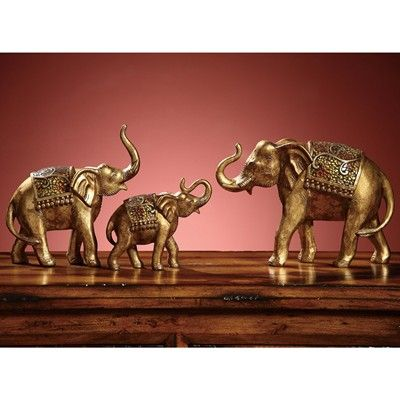 Eleanor Elephant Statues from the Crestview Collection