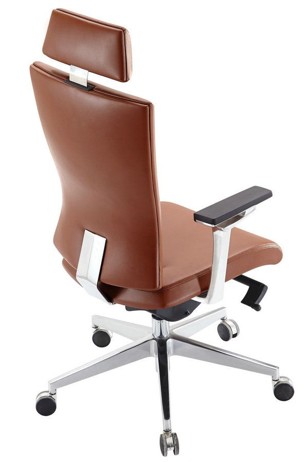 Luxury Computer Office Desk Chair Pu Leather Swivel Adjustable Off