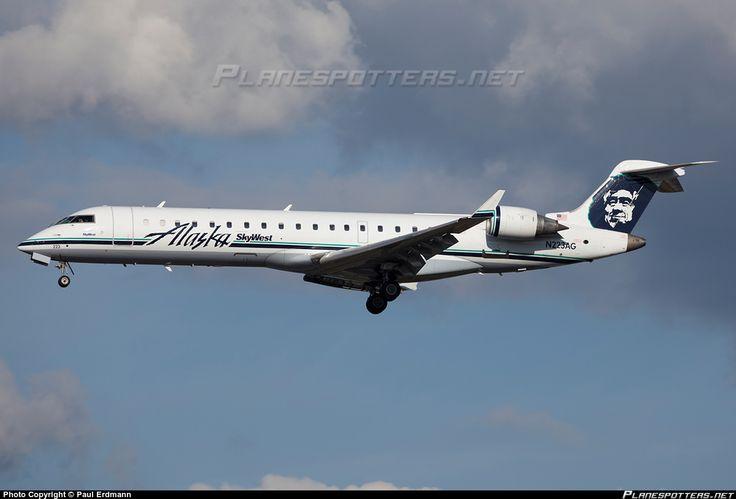 N223AG SkyWest Airlines Canadair CL-600-2C10 Regional Jet CRJ-701ER