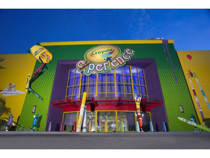 Discover the magic of color with 26 hands-on attractions at Orlando's newest family destination located at The Florida Mall.