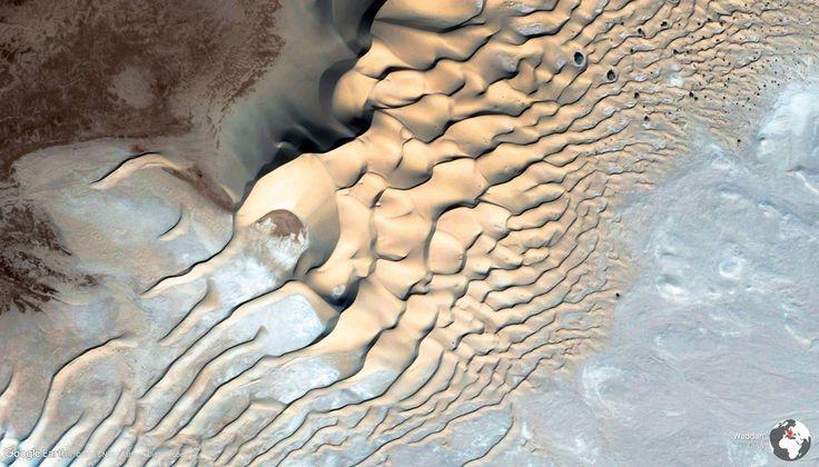 Ueddan, une oasis au Sahara : Earth View : 40 photos exceptionnelles delaTerre vue du ciel - Linternaute