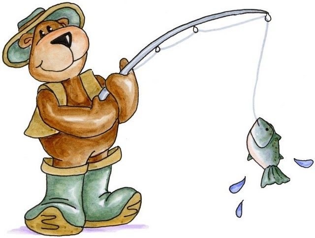 CLIPART - CAMPING AND FISHING: a collection of ideas to ...