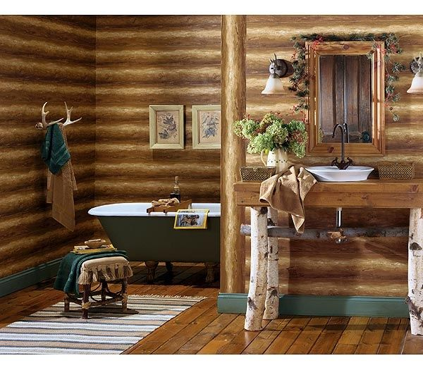 Log Home Decor: 26 Best Log Cabin Christmas Images On Pinterest