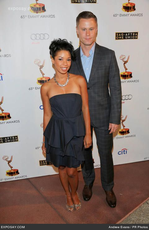 Eric Nenninger from 'Malcolm and The Middle' and his wife.