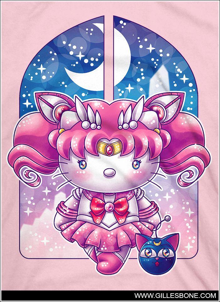 @isabellegeneva .Hello Chibi Moon. by GBIllustrations on DeviantArt