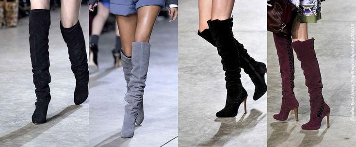 Modne buty na zimę 2014/15 - Trendy w modzie - Domodi.pl