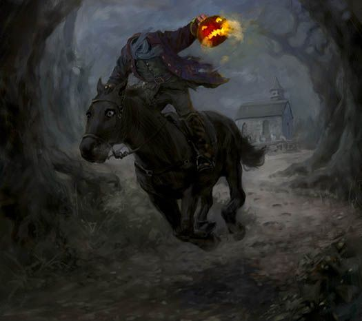 The Headless Horseman, by Chris Beatrice