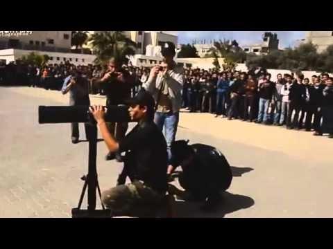 DEMONSTRATION OF JIHAD TRAINING AGAINST ISRAEL FOR GAZA STUDENTS