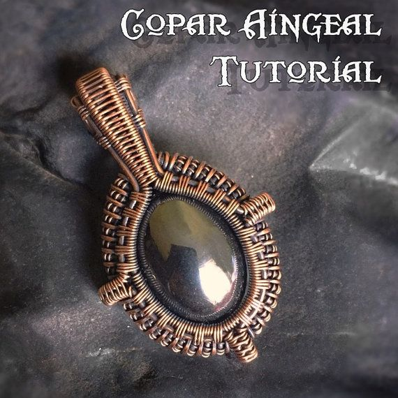 TUTORIAL Portal Pendant Wire Wrapping by CoparAingealTutorial                                                                                                                                                     More