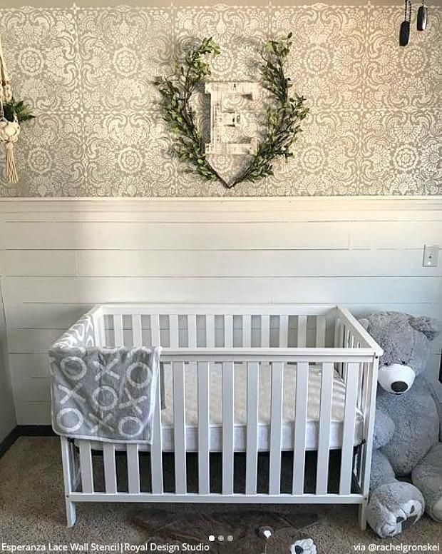 The Cutest Baby Nurseries U0026 Kids Rooms Ever! Home Decorating DIY Ideas  Using Wall Stencils From Royal Design Studio