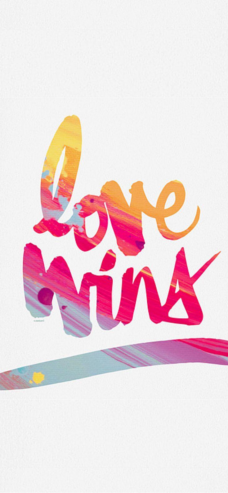 Kal Barteski LOVE WINS colour Art Print | DENY Designs Home Accessories