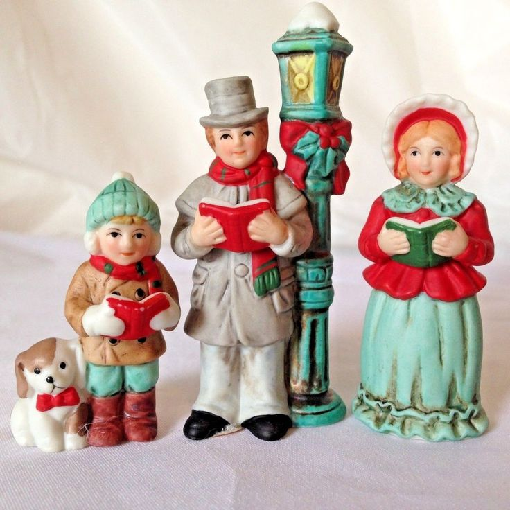 Vintage 1987 Buyers Choice Carolers Boy Girl Christmas: 1000+ Images About Department 56 Village Wishlist On