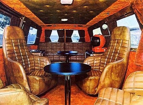 Van indoors