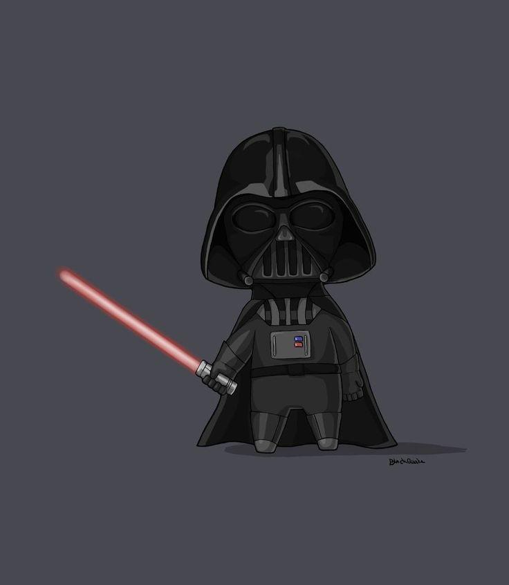 Cartoon Darth Vader by BlackQuake.deviantart.com on @DeviantArt