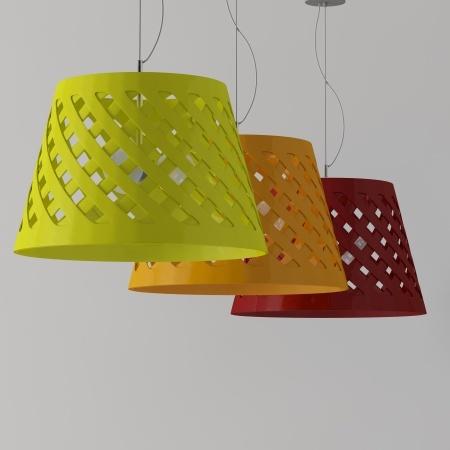 PIE PENDANT LAMP By Enrico Zanolla