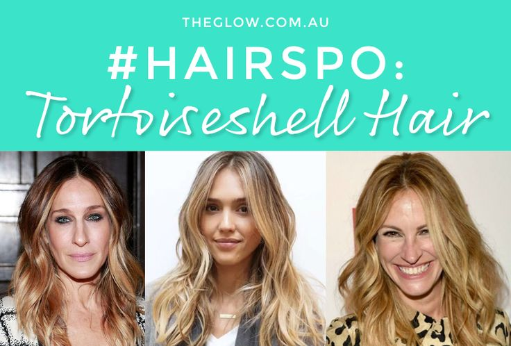 #Hairspo - forget balayage, it's all about tortoiseshell hair.