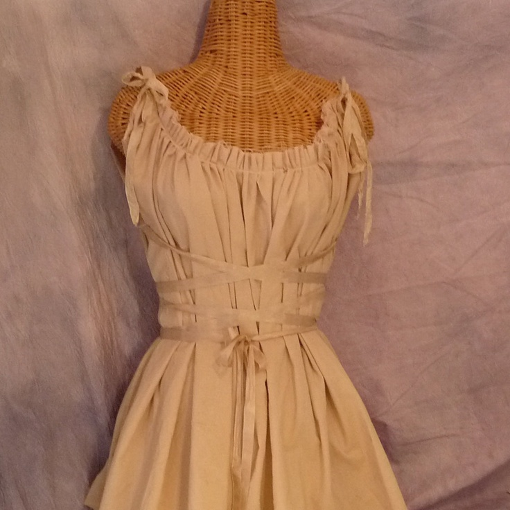 Daniella, dress old shade in Brown for decoration or worn in Nightgown