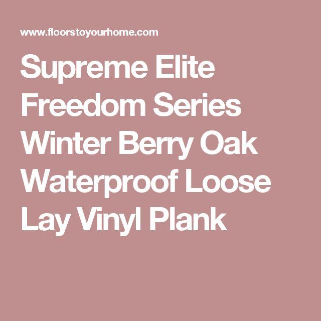 Best Supreme Elite Freedom Series Winter Berry Oak Waterproof 400 x 300