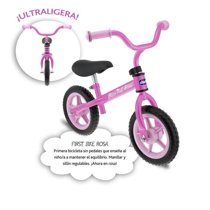 Mi primera bicicleta es una pasada :) Bicicleta infantil sin pedales Está fabricada en metal ultraligero Soporta un peso máximo de 25 kg #bicicleta #compras #ofertas