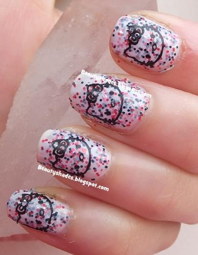 Hello Kitty Nail Design 2