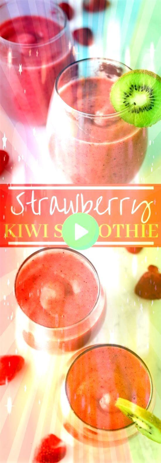 #Erdbeere #Smoothies #Smoothie #Getränke #Strawberry Kiwi SmoothieStrawberry …   – drinks