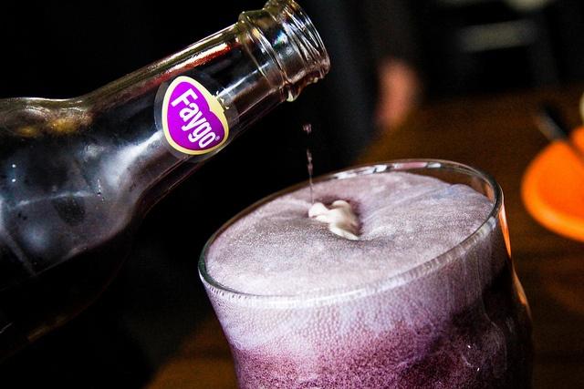 Purple Cow Float by stevendepolo, via Flickr  grape soda & ice cream #TattyDevineLilac
