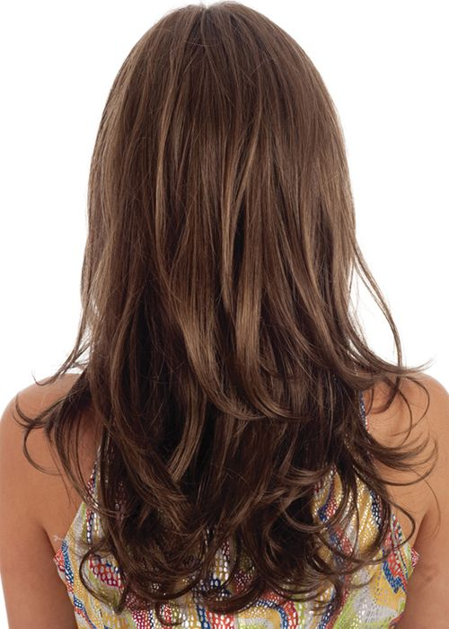 This hairstyle is very easy to be get into but looks very classy and attractive Straight hairs but a very slight curl on the ending layers can be followed to be stylish