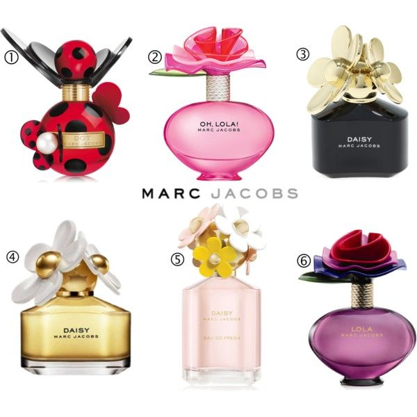 Marc Jacobs Perfumes These bottles are totes amaze!!! so cute!!