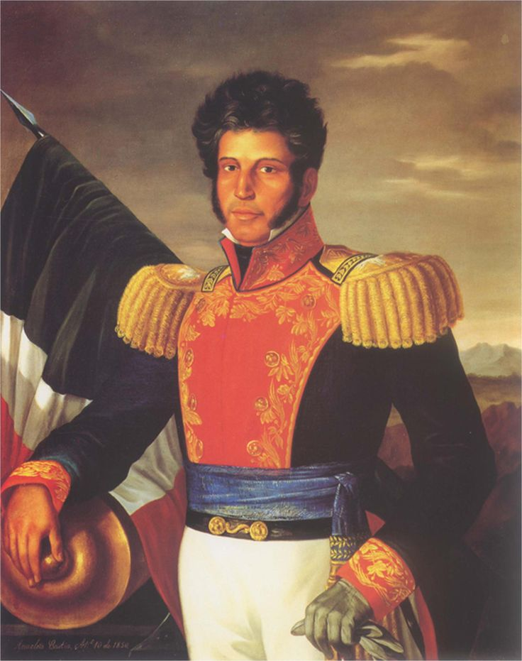 Recordamos a Vicente Guerrero en el aniversario de su natalicio, uno de los consumadores de la Independencia y Presidente de México