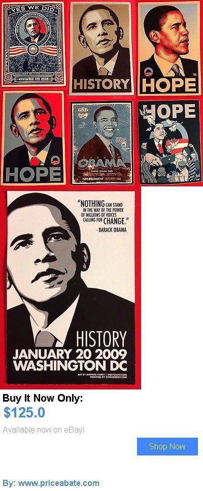 Barack Obama: Lot Of 97 Barack Obama Campaign Stickers Set Shepard Fairey Hope President BUY IT NOW ONLY: $125.0 #priceabateBarackObama OR #priceabate