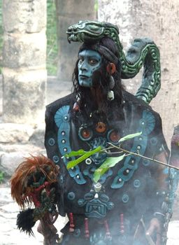 Shaman: In the Maya ancient culture, there were more than one shaman per community. they celebrated their connection and love to mother earth, there were the healing shaman, the sorcerer shaman, the shaman in charge of rituals and more. Their devotion and love to mother earth made them one of the most fabulous civilizations in the history of mankind.