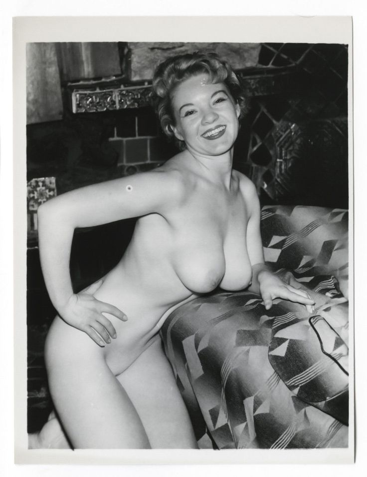 1950s Vintage Nude Photosultry Busty Big Boobs Puffy-1695