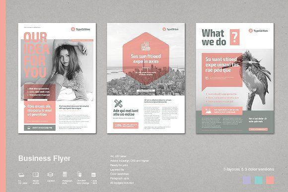 Business Flyer by TypoEdition on Creative Market