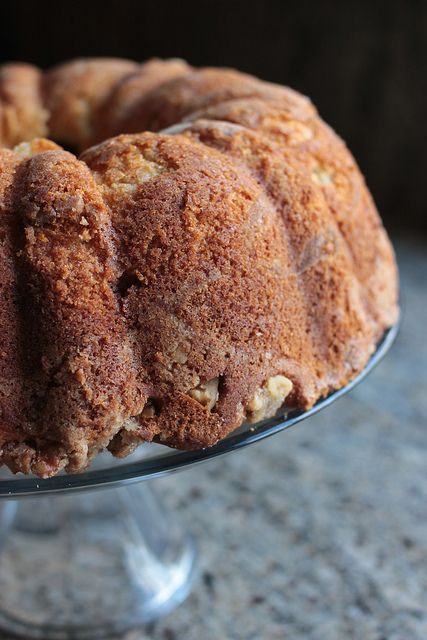 Sour Cream Coffee Cake - Lovin' From The Oven