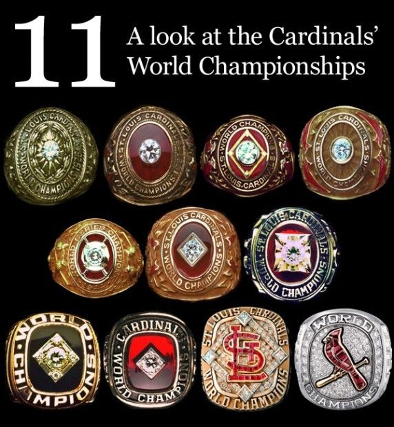 Cardinals World Series ring a contender for best bling