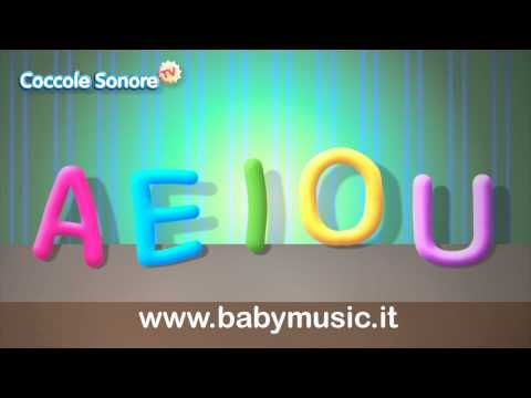 The Song of the vowels AEIOU - Learning with Cuddles Scores - YouTube