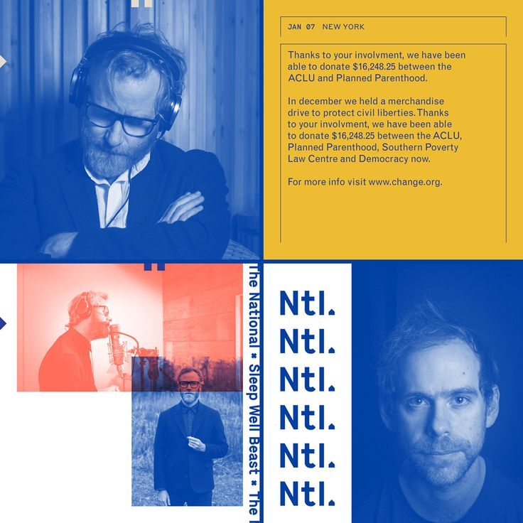 When The National began to work on their seventh studio album, Sleep Well Beast, they enlisted their friends to create a community-based work of art. Among the tight-knit group of artists were Luke Hayman of Pentagram, photographer Graham Macindoe and vis…